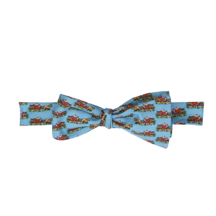 Wm. Lamb & Son - Quail Wagon Bow - Blue